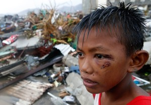 Super Typhoon Haiyan Hits Central Philippines