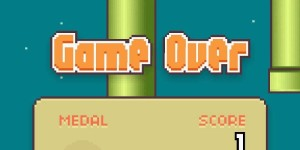 Flappy Bird: Game Over