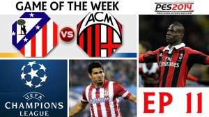 Atletico Madrid clashes with AC Milan
