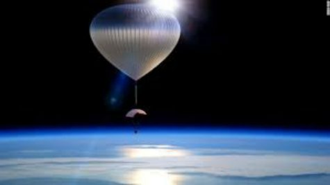 Space Travel: In a Balloon or a Rocket?