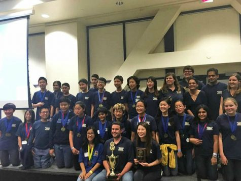 The Science Olympiad Team.