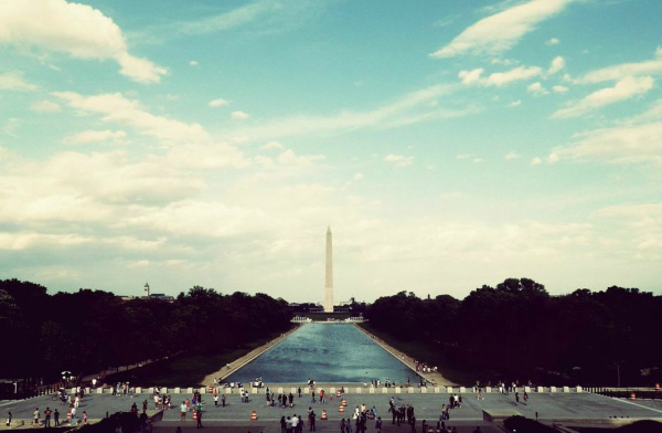 Grand and mighty, the Washington Monument attracts millions of visitors.