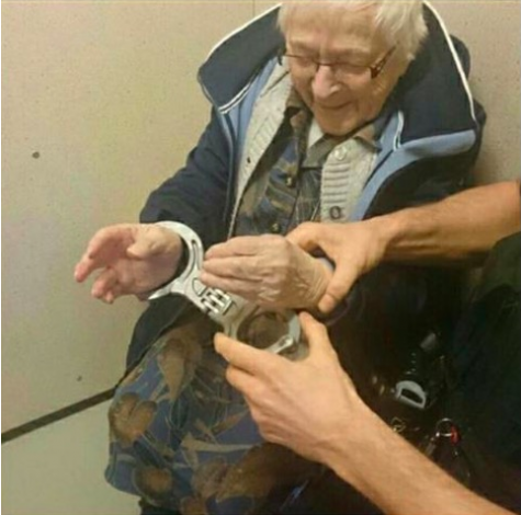 99-year-old lady gets arrested, for the weirdest reason