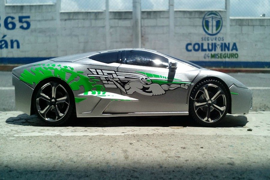 One of the cars from Fast and Furious.