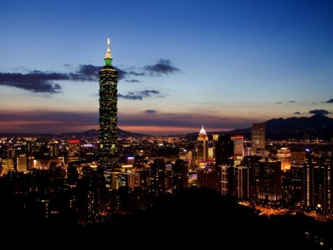 Taiwan always has a great view, both night and day.