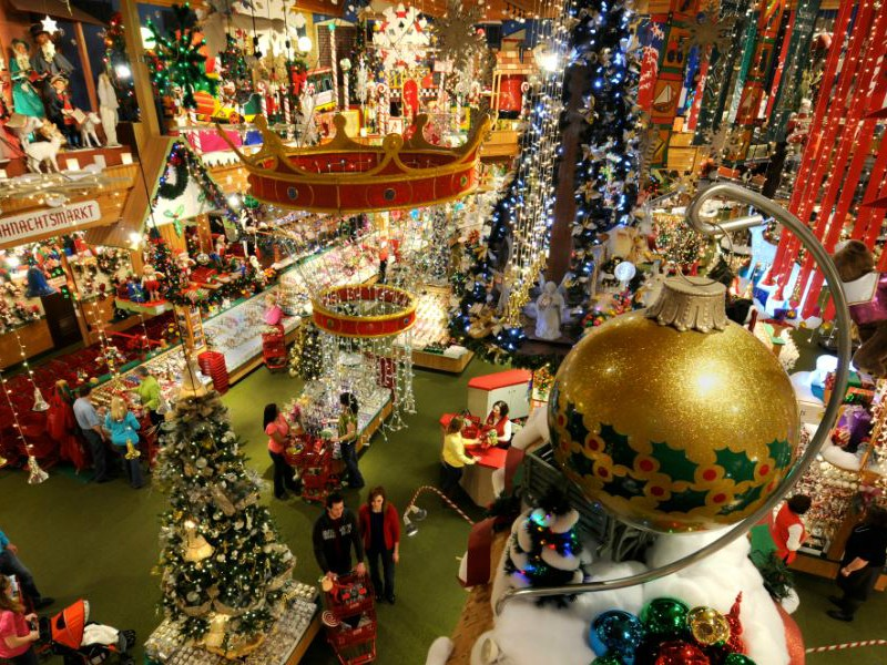 Bronner's Christmas Wonderland, the largest Christmas store in Michigan