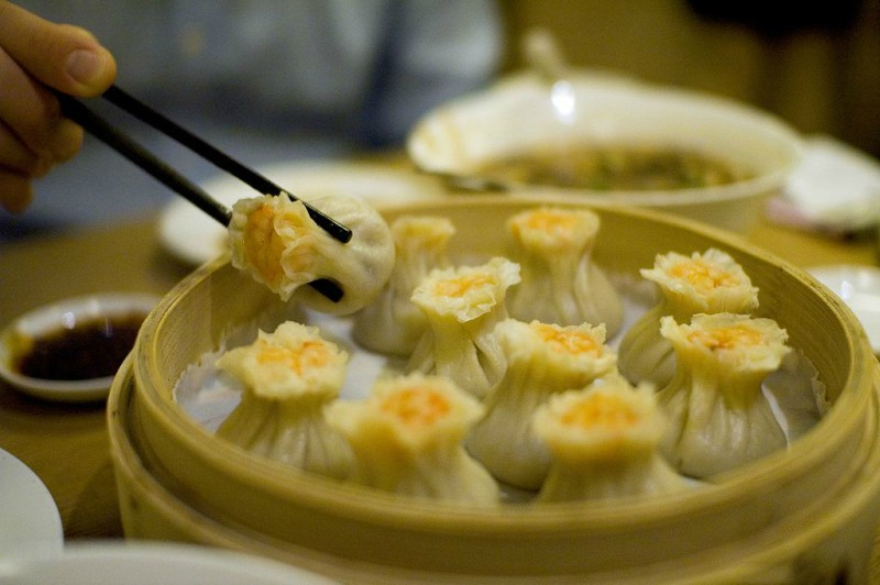 Delicious+shrimp+dumplings+from+Din+Tai+Fung.