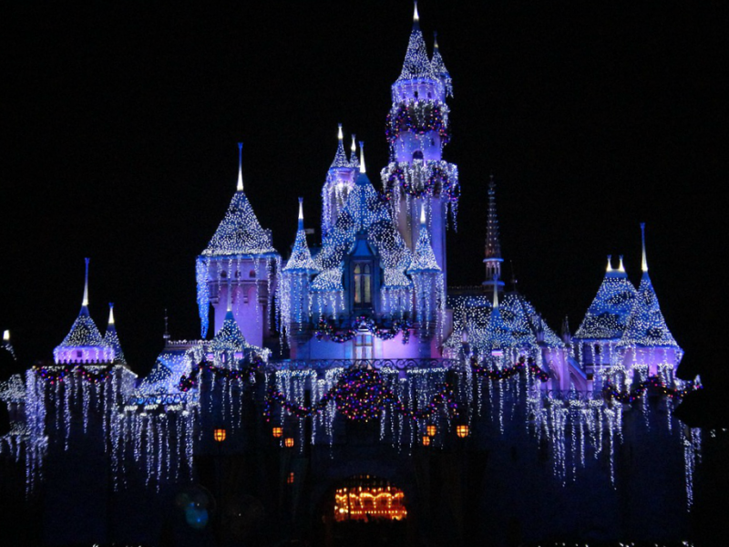 Disneyland Winter Wonderland Magic