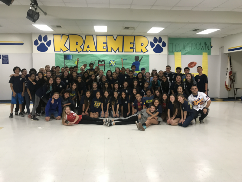 The+students+that+attended+the+Kraemer+Kickoff.+