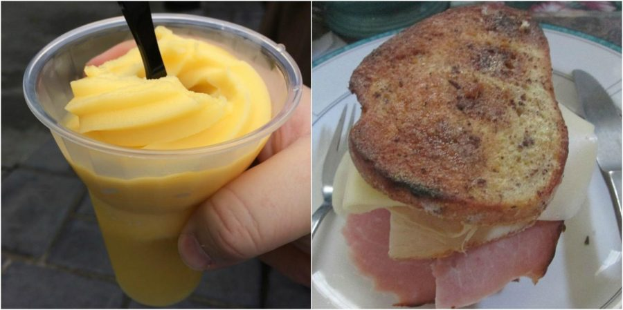 A+perfect+lunch+at+Disneyland%3A+a+Monte+Cristo+sandwich+with+Dole+Whip%21