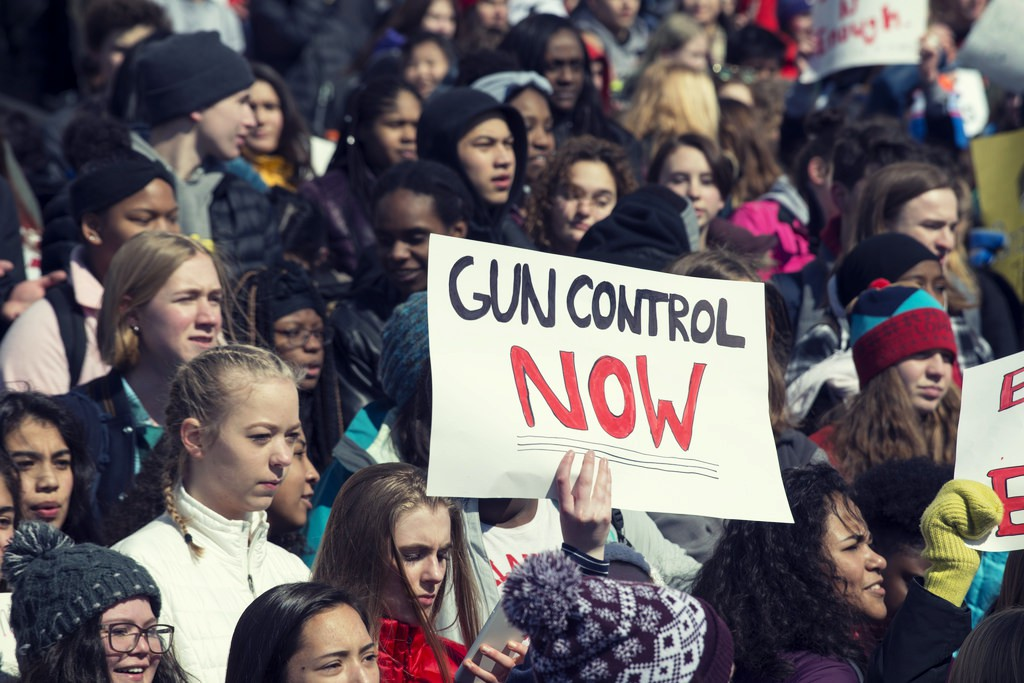 March for Our Lives - the Great Mills  shooting took place just days before the March