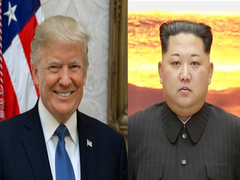 Donald+Trump+and+Kim+Jong+Un