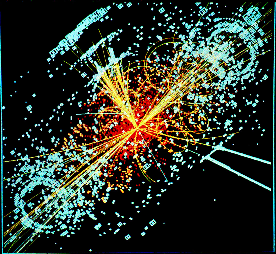 An event of a Higgs Boson