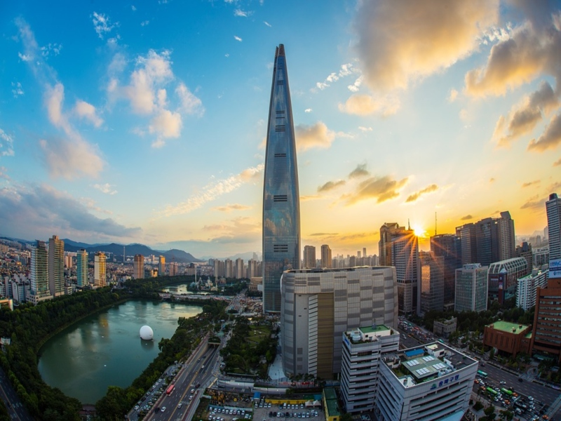 A picture of Lotte World Tower in Seoul, Tower,
