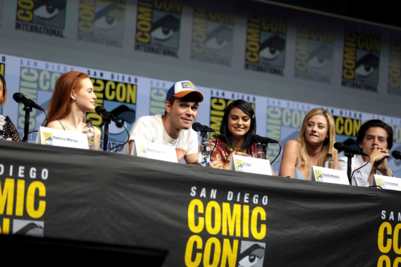 Riverdale+cast+at+Comic+Con+