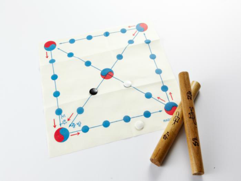 Yut-nori, a traditional Korean game
