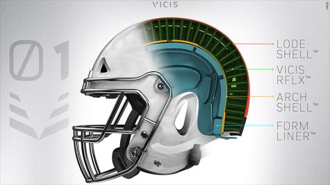 Protective Football Helmet Models Made to Prevent Concussions