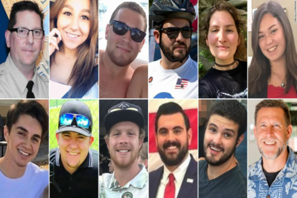 The 12 victims of the Thousand Oaks Schooting