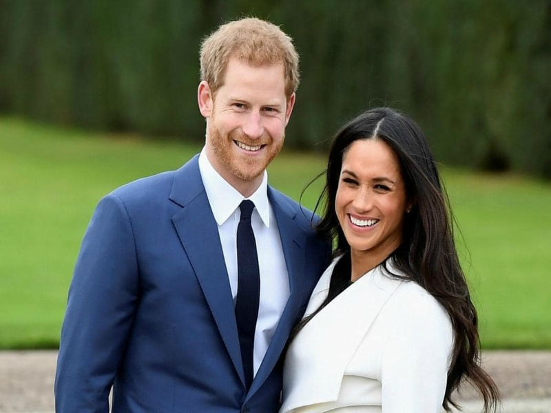 Prince+Henry+and+Meghan+Markle