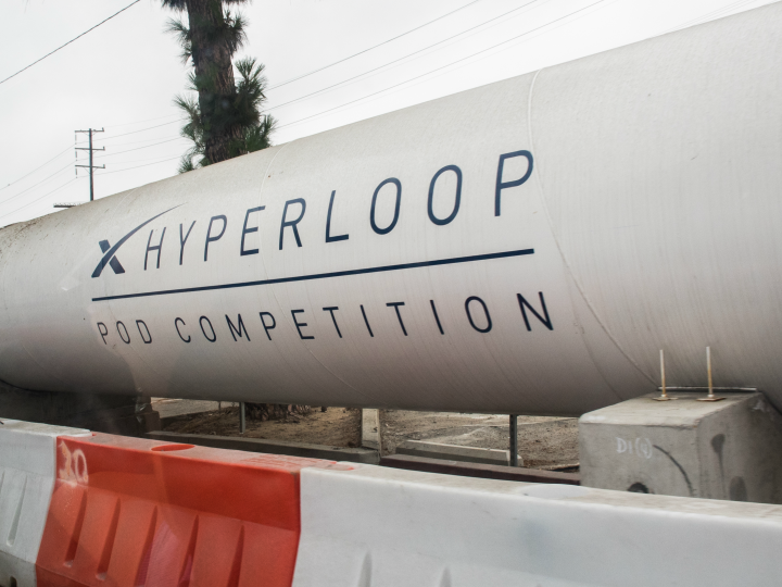 The+hyperloop+is+currently+under+construction
