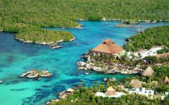 Traveling to Xel-Ha, Mexico