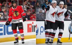 Blackhawks trade Schmaltz to Coyotes for Strome and Perlini