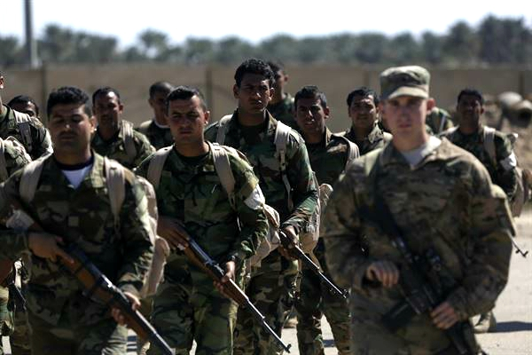 Troops in Syria