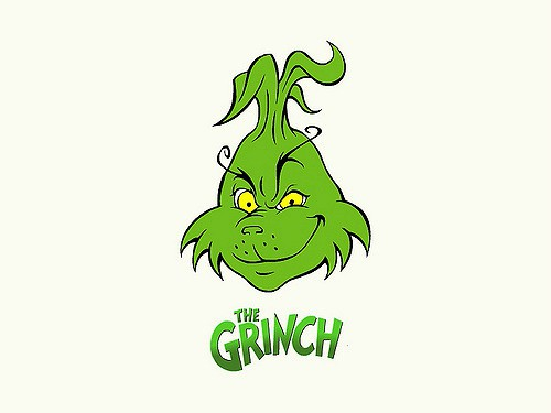 A drawn image of The Grinch