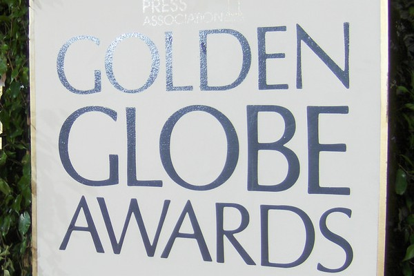 The logo of the Golden Globes