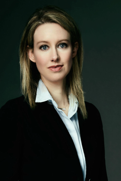 Elizabeth Holmes, the CEO of Theranos