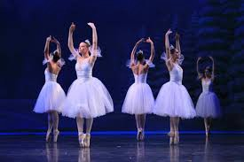 The Nutcracker ballet's representation of snowflakes