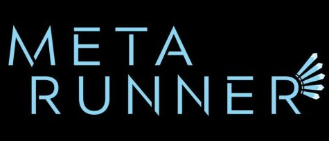 The logo of an upcoming internet series called Meta Runner.
