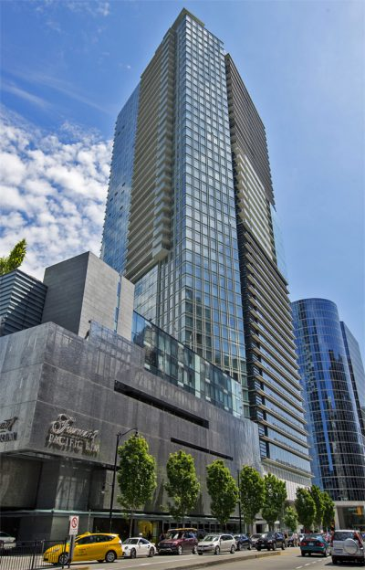 The Farimont Pacific Rim Hotel in Vancouver