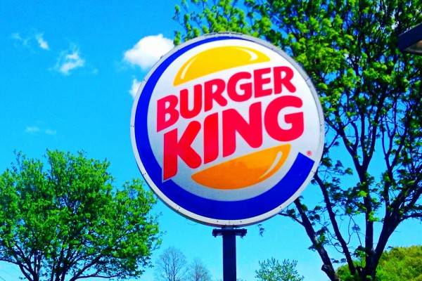 Burger King recently came out with a completely meat-free burger.