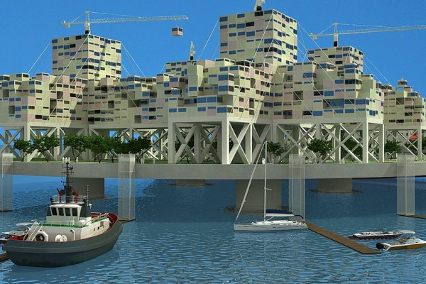 As we run out of natural resources and land, should we as humans turn towards floating cities?