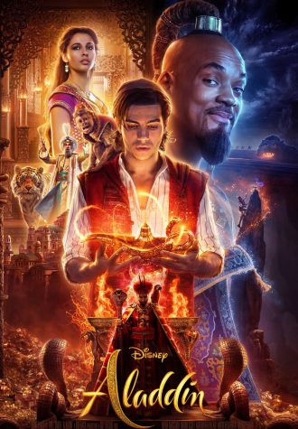 The poster of Walt Disney's live-action remake, Aladdin.