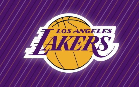 The lakers logo looking good/resembling the good team this season