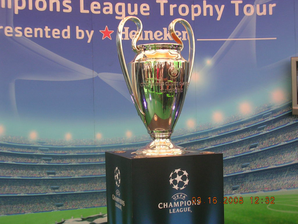 The trophy that the teams compete and played their best for.