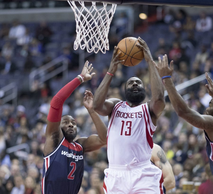 Rockets at Wizards James Harden Balling it up on John Wall