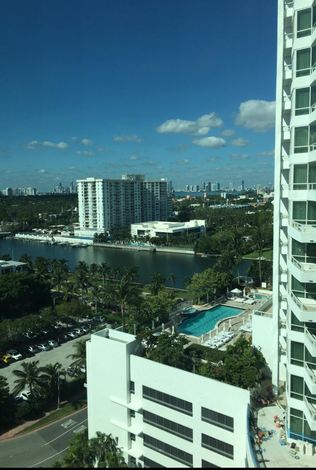 A sneak peak of the amazing and wonderful views in Miami!!