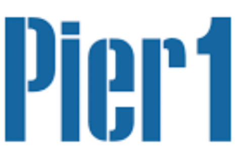 Pier 1 imports logo that is about to shut down