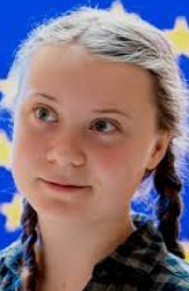 Greta Thunberg is seen as one of the most inspiring activists in climate change