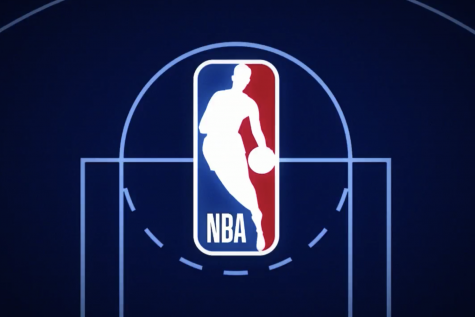 The nba logo representing the league before the trade deadline