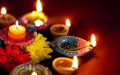 Some of the diya's that are used for Diwali