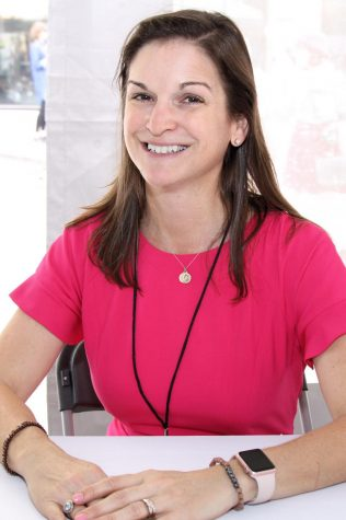 Sarah Dessen, the author of The Rest of the Story.