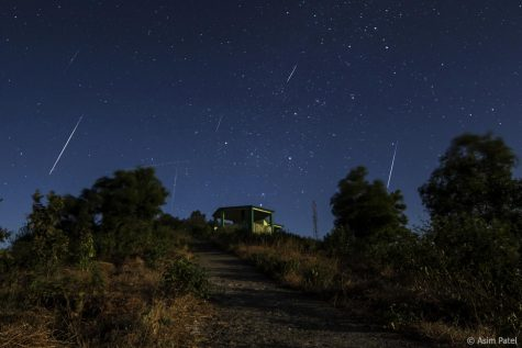 Geminid Meteor Showers